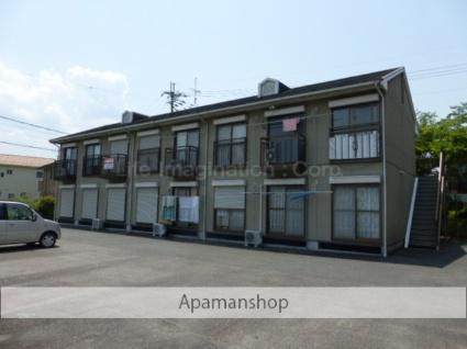 滋賀県湖南市、三雲駅JRバスバス10分岩根下車後徒歩5分の築23年 2階建の賃貸アパート
