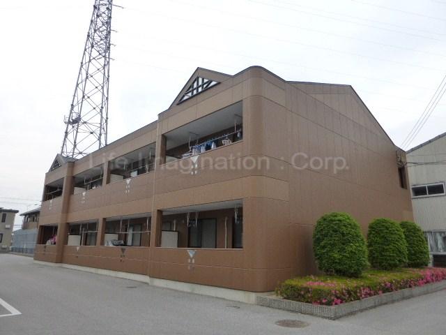滋賀県彦根市、彦根駅徒歩46分の築15年 2階建の賃貸マンション