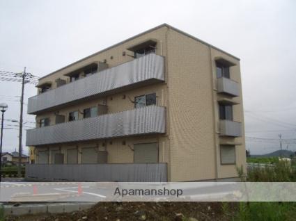 滋賀県米原市、米原駅徒歩60分の築9年 3階建の賃貸アパート