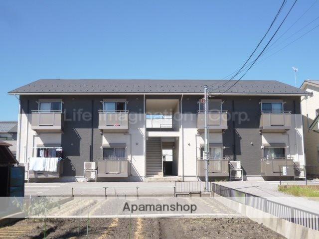 滋賀県長浜市、坂田駅徒歩70分の築10年 2階建の賃貸アパート