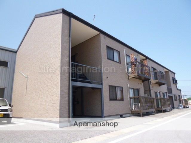 滋賀県彦根市、南彦根駅徒歩14分の築23年 2階建の賃貸アパート