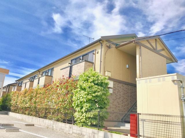 滋賀県彦根市、南彦根駅徒歩12分の築13年 2階建の賃貸アパート
