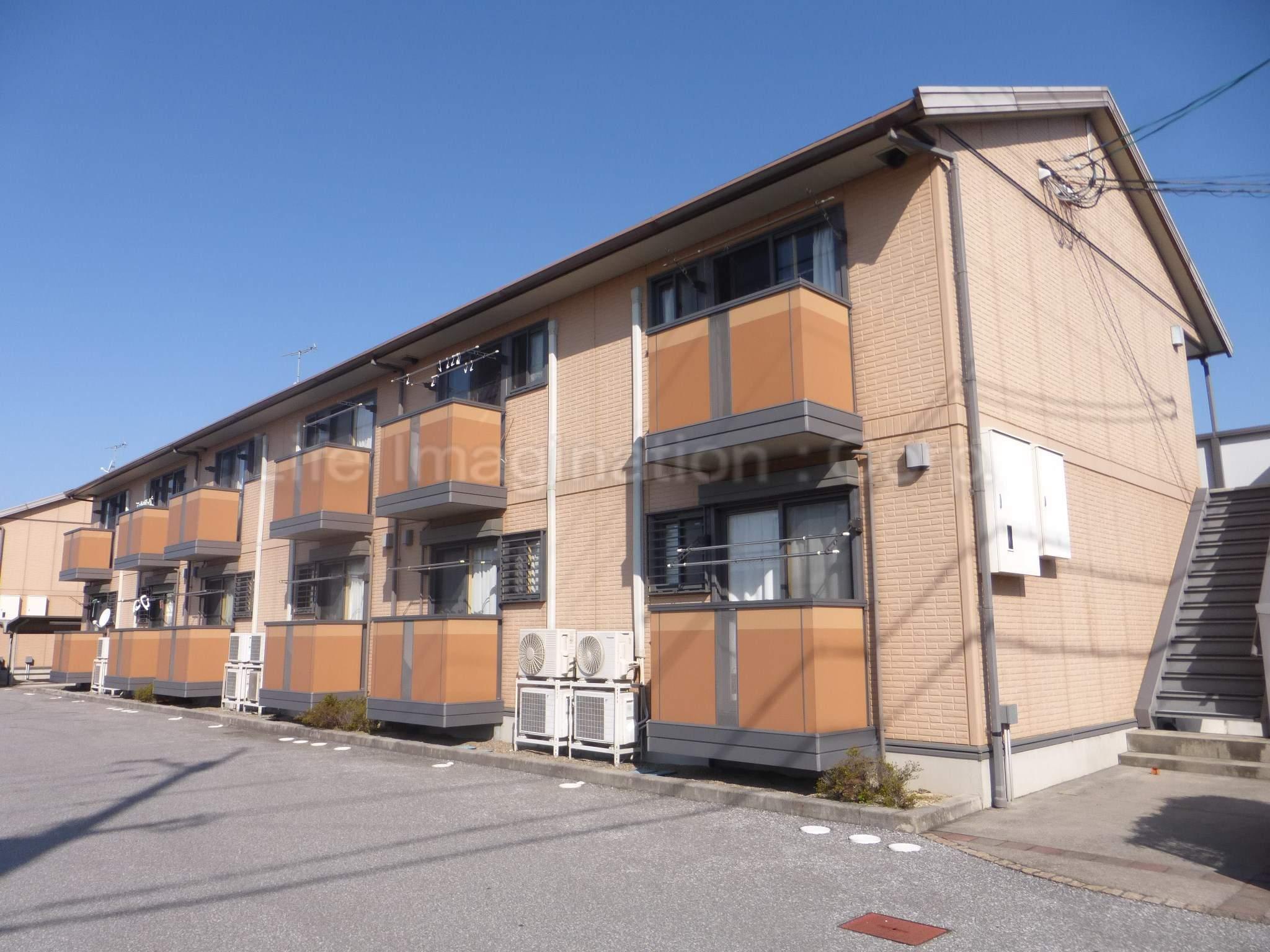 滋賀県彦根市、河瀬駅徒歩3分の築13年 2階建の賃貸アパート