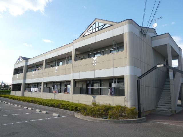 滋賀県彦根市、南彦根駅徒歩54分の築14年 2階建の賃貸マンション