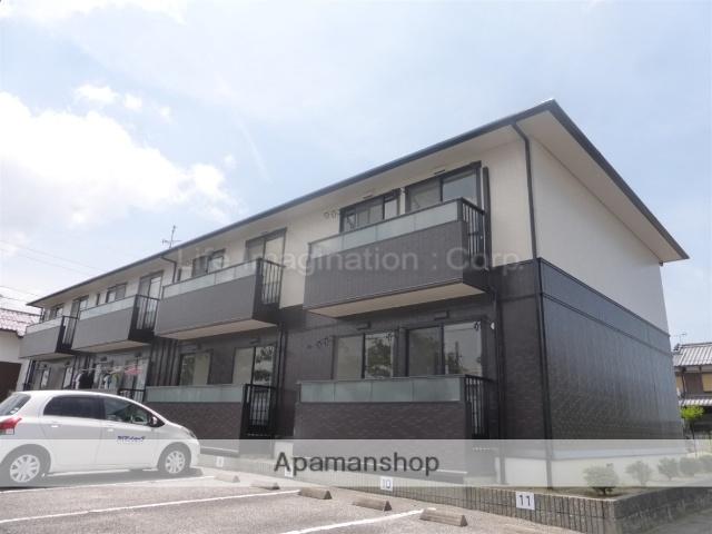 滋賀県彦根市、稲枝駅徒歩6分の築20年 2階建の賃貸アパート