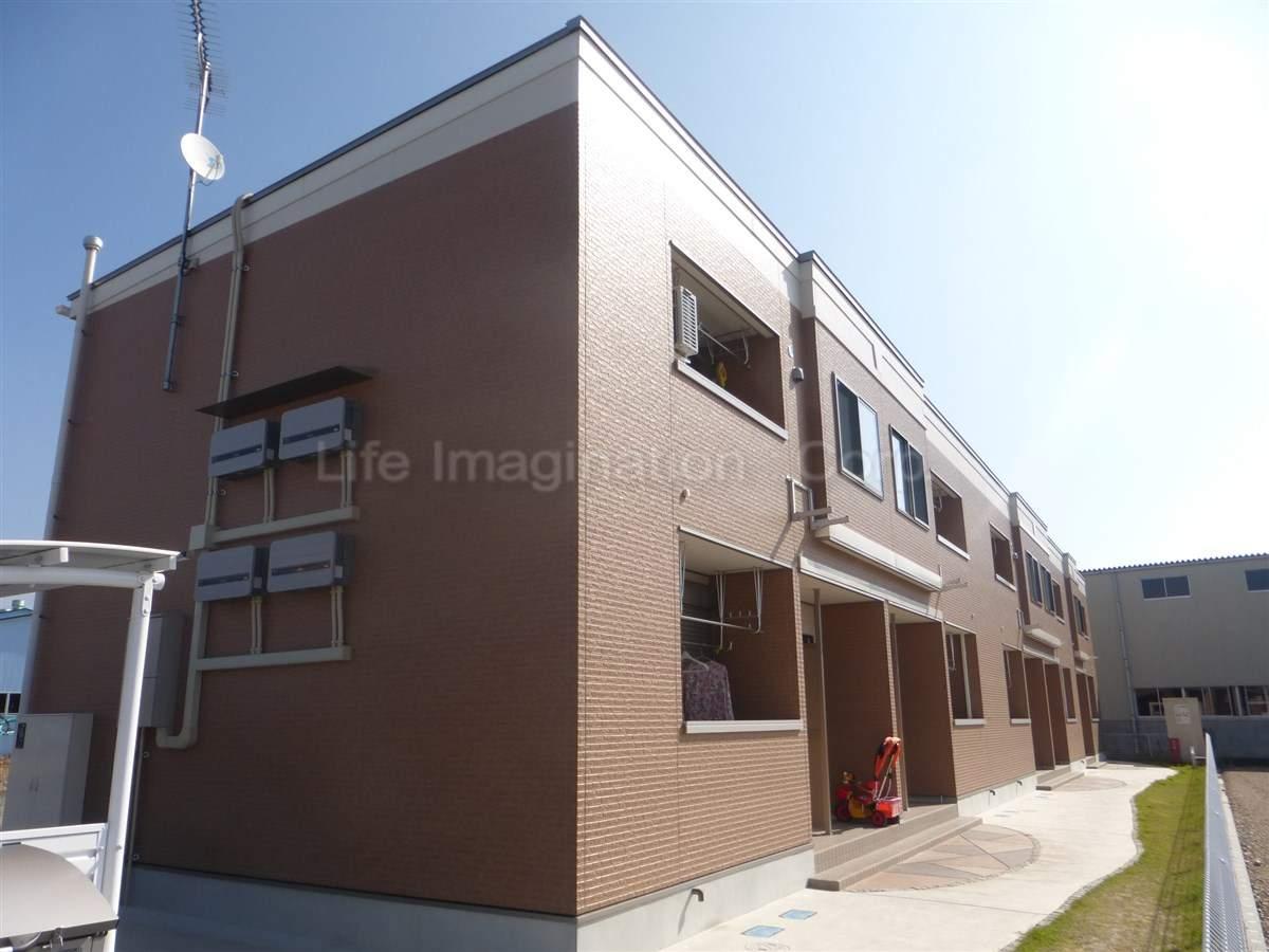滋賀県彦根市、南彦根駅徒歩12分の築1年 2階建の賃貸アパート