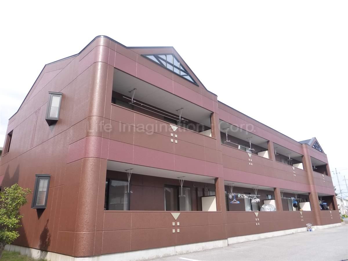 滋賀県彦根市、南彦根駅徒歩17分の築12年 2階建の賃貸マンション