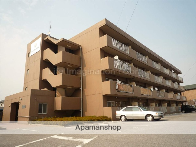 滋賀県長浜市、田村駅徒歩70分の築15年 4階建の賃貸マンション