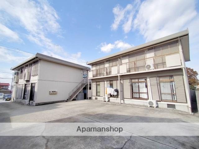 滋賀県長浜市、坂田駅徒歩45分の築26年 2階建の賃貸アパート