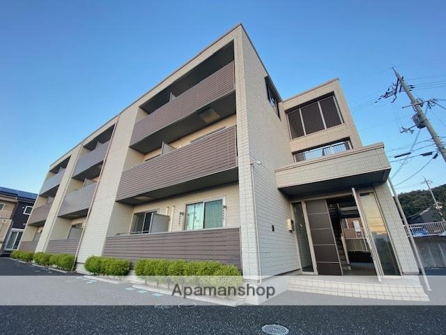 滋賀県米原市、米原駅徒歩8分の築7年 3階建の賃貸アパート