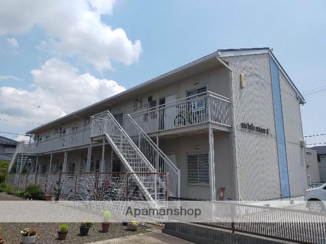 滋賀県長浜市、坂田駅徒歩60分の築25年 2階建の賃貸アパート