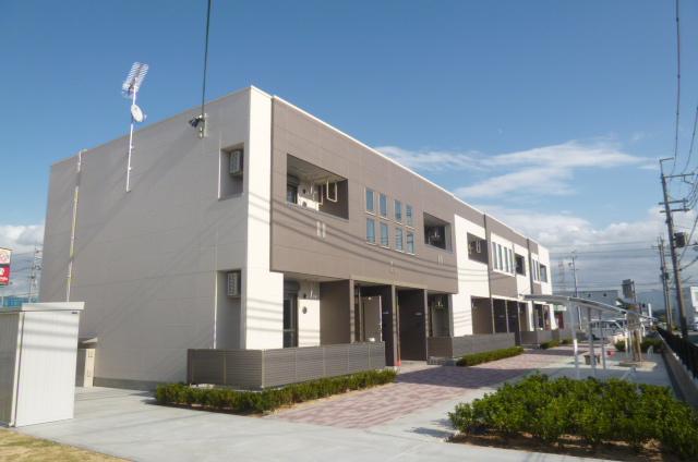 滋賀県彦根市、南彦根駅徒歩13分の築3年 2階建の賃貸マンション
