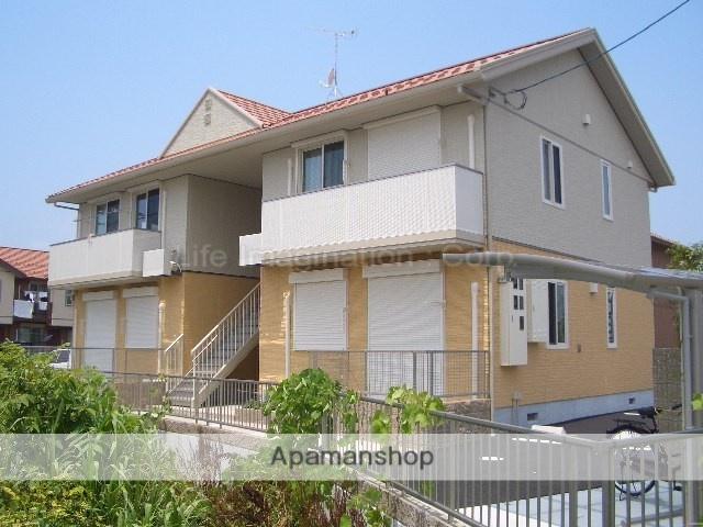 滋賀県長浜市、河毛駅徒歩25分の築8年 2階建の賃貸アパート