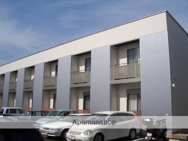 滋賀県長浜市、坂田駅徒歩90分の築10年 2階建の賃貸アパート