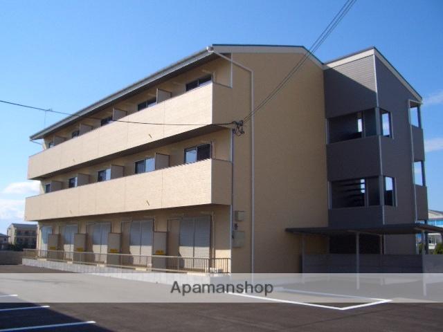 滋賀県長浜市、長浜駅徒歩30分の築10年 3階建の賃貸マンション