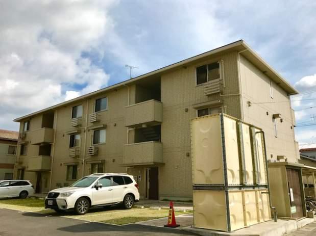 滋賀県彦根市、南彦根駅徒歩25分の新築 3階建の賃貸アパート