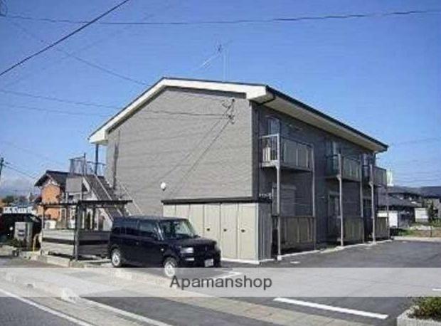 滋賀県長浜市、虎姫駅徒歩100分の築10年 2階建の賃貸アパート
