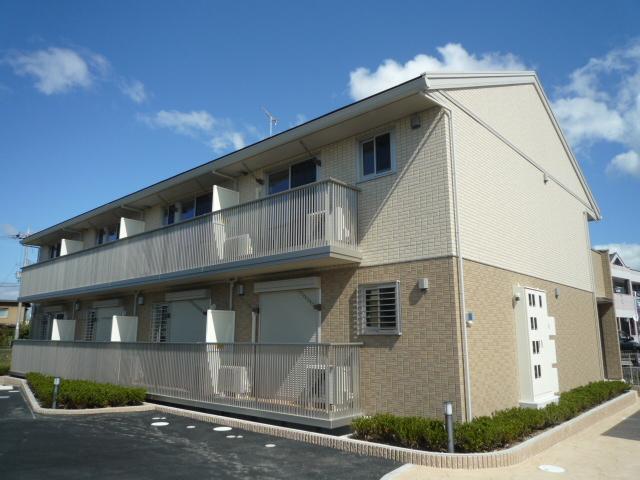 滋賀県米原市、米原駅徒歩60分の築5年 2階建の賃貸アパート