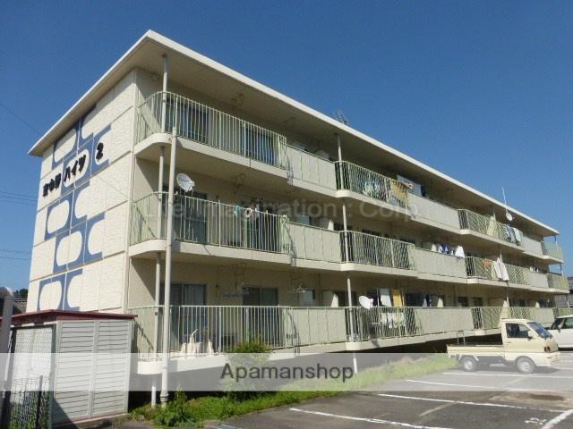 滋賀県東近江市、八日市駅徒歩16分の築35年 3階建の賃貸マンション