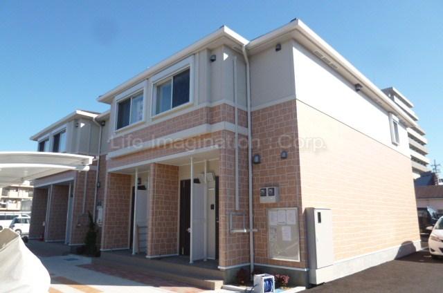 滋賀県彦根市、南彦根駅徒歩28分の築3年 2階建の賃貸アパート