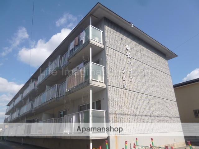 滋賀県長浜市、田村駅徒歩30分の築21年 3階建の賃貸アパート