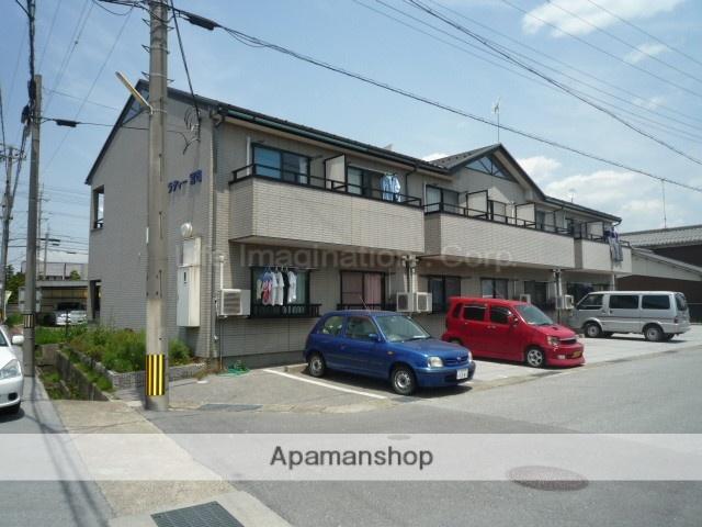 滋賀県長浜市、坂田駅徒歩70分の築18年 2階建の賃貸アパート