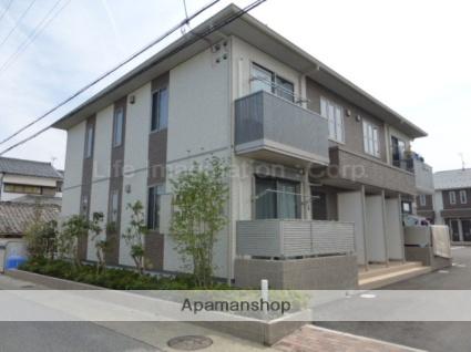 滋賀県彦根市、南彦根駅徒歩17分の築2年 2階建の賃貸アパート