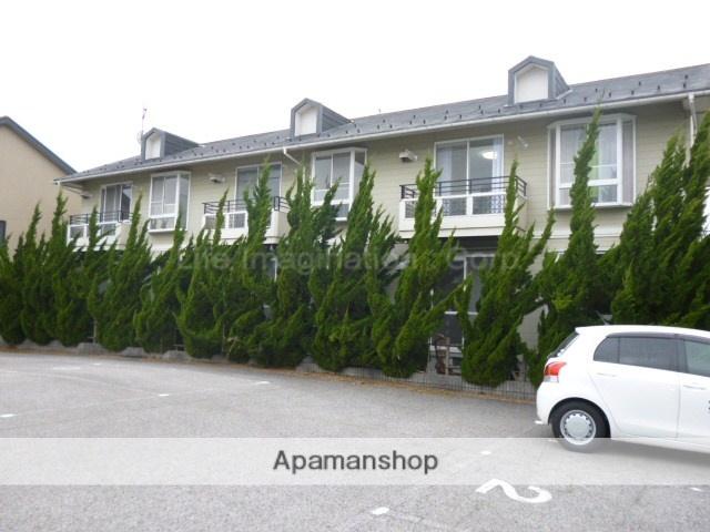 滋賀県長浜市、虎姫駅徒歩50分の築22年 2階建の賃貸アパート