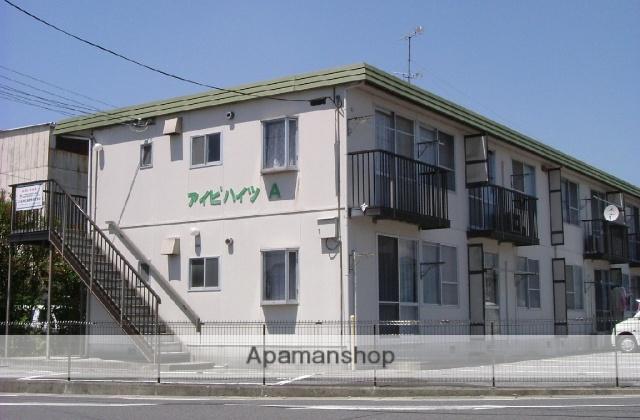 滋賀県東近江市、八日市駅近江バス9分札の辻下車後徒歩10分の築33年 2階建の賃貸アパート