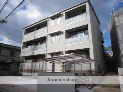 京都府京都市右京区、花園駅徒歩19分の築1年 3階建の賃貸アパート