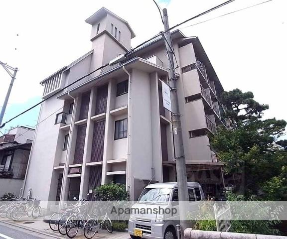 京都府京都市東山区、三条駅徒歩5分の築45年 4階建の賃貸マンション