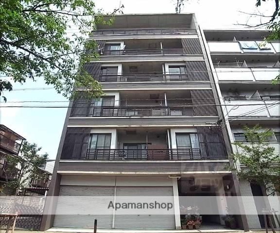 京都府京都市東山区、三条駅徒歩7分の築21年 6階建の賃貸マンション