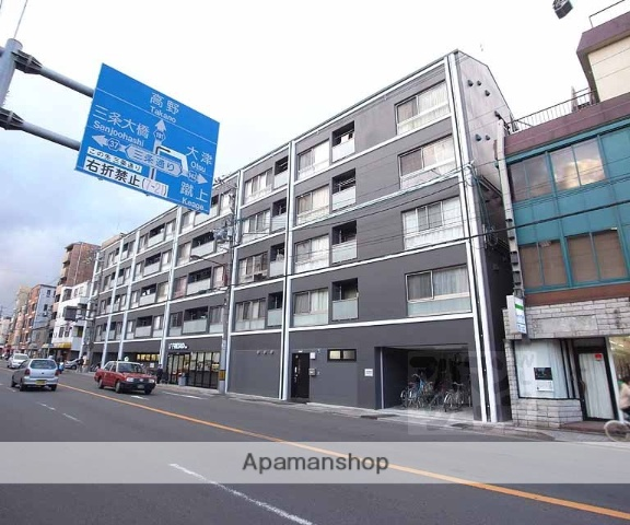 京都府京都市東山区、三条駅徒歩8分の築3年 5階建の賃貸マンション