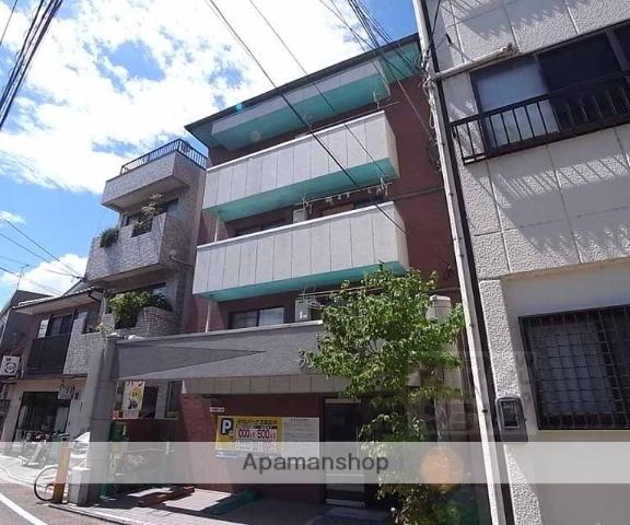 京都府京都市東山区、三条駅徒歩9分の築30年 4階建の賃貸マンション