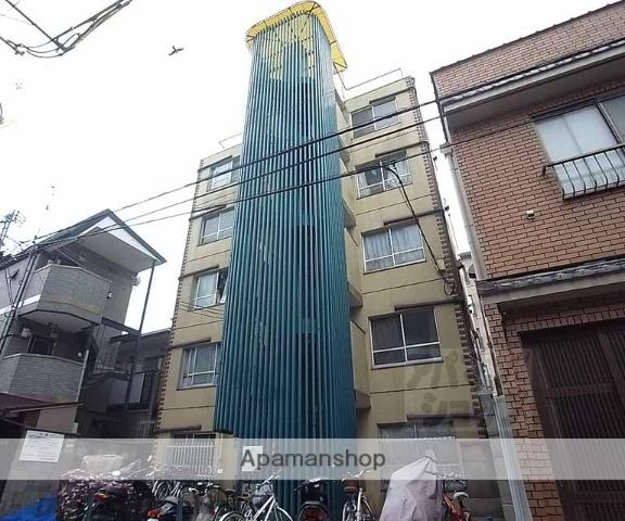 京都府京都市東山区、三条駅徒歩6分の築38年 5階建の賃貸マンション