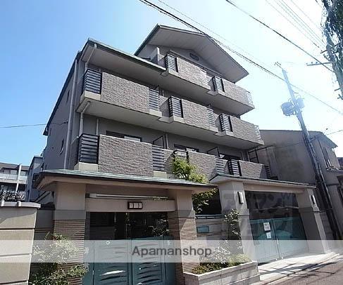 京都府京都市東山区、三条駅徒歩10分の築17年 4階建の賃貸マンション