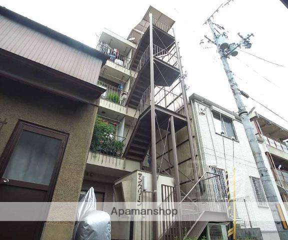 京都府京都市東山区、三条駅徒歩6分の築35年 4階建の賃貸マンション