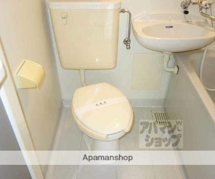 音羽サンハイツ[1K/18m2]のトイレ
