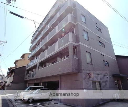 京都府京都市東山区、三条駅徒歩6分の築17年 6階建の賃貸マンション