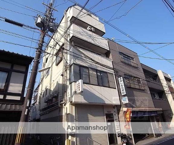 京都府京都市東山区、三条駅徒歩3分の築25年 5階建の賃貸マンション