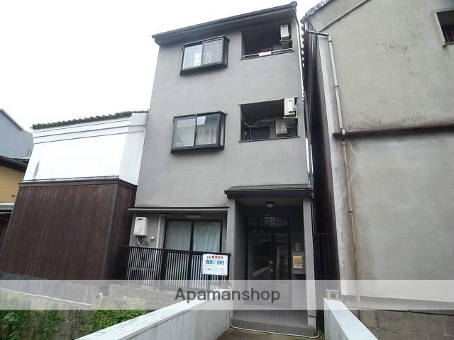 京都府京都市東山区、三条駅徒歩8分の築20年 3階建の賃貸アパート