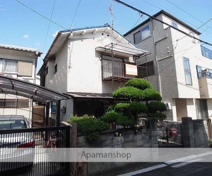 京都府向日市、向日町駅徒歩16分の築51年 2階建の賃貸アパート