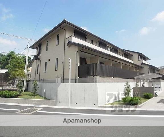 京都府向日市、長岡京駅徒歩22分の新築 2階建の賃貸アパート