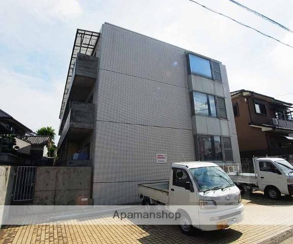 京都府向日市、東向日駅徒歩6分の築32年 3階建の賃貸マンション