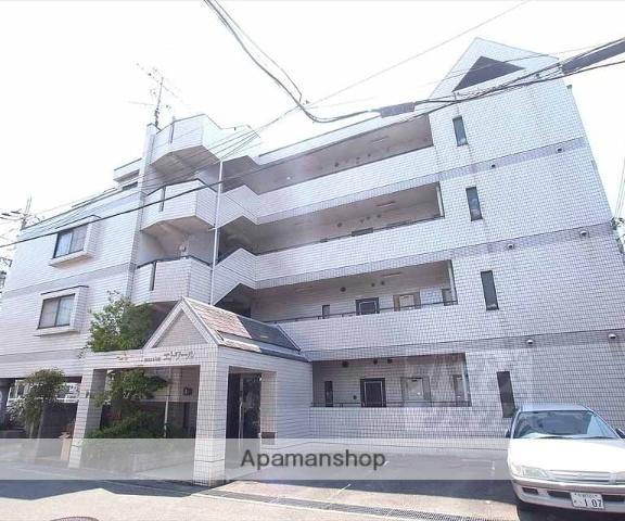 京都府向日市、桂川駅徒歩19分の築28年 4階建の賃貸マンション