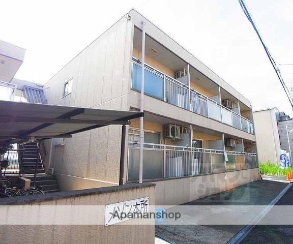 京都府向日市、向日町駅徒歩5分の築29年 2階建の賃貸マンション