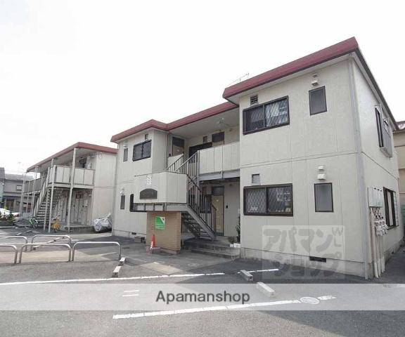 京都府向日市、東向日駅徒歩10分の築27年 2階建の賃貸アパート