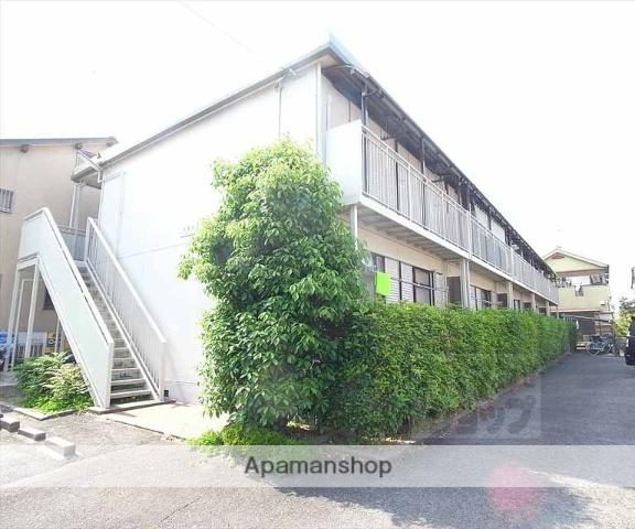 京都府向日市、桂川駅徒歩22分の築28年 2階建の賃貸アパート