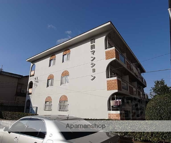 京都府向日市、向日町駅徒歩11分の築39年 3階建の賃貸マンション