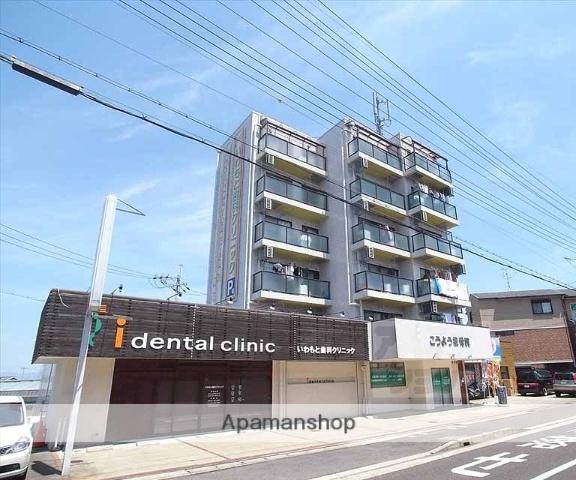 京都府向日市、洛西口駅徒歩13分の築32年 6階建の賃貸マンション
